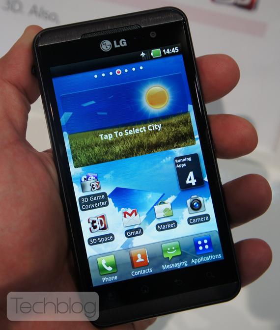 LG Optimus 3D, 3D Game Converter hands-on