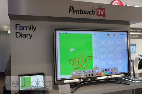 LG The Pentouch TV