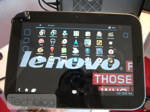 Lenovo A1 tablet, Με οθόνη 7 ιντσών και Android 2.3 στα 199 δολάρια
