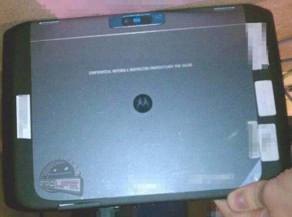Motorola Xoom 2, Πρώτες φωτογραφίες από το επόμενο μοντέλο
