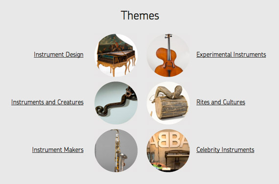 Musical Instruments Museums Online, Ένα μουσικό ταξίδι