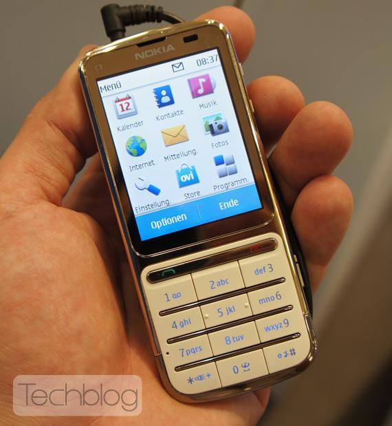 Nokia C3-01 Gold edition, Φωτογραφίες hands-on