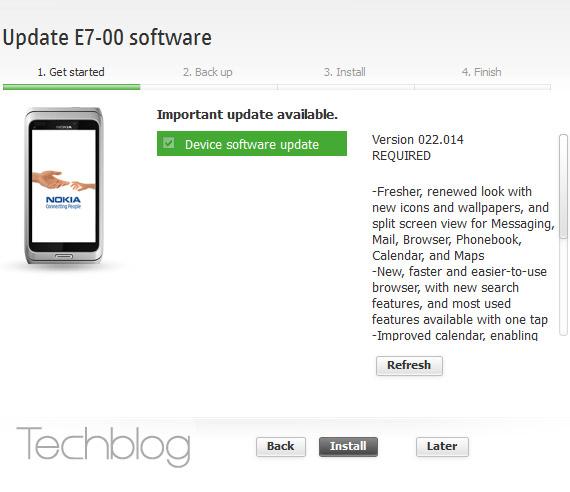 Symbian Anna, Διαθέσιμη η αναβάθμιση για τα Nokia N8, E7, C7 και C6-01