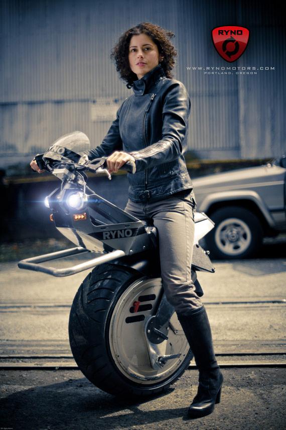 Ryno Motorcycles, Ένα πιο αγριεμένο Segway ηλεκτρικό μονότροχο!