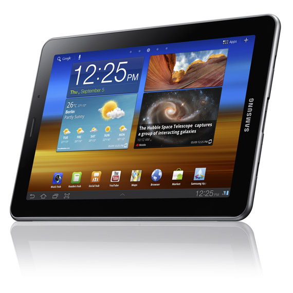 Samsung Galaxy Tab 7.7, Tablet με οθόνη Super AMOLED Plus