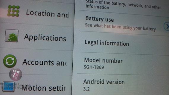 Samsung Galaxy Tab Plus, Αναβαθμισμένο 7άρι με Honeycomb