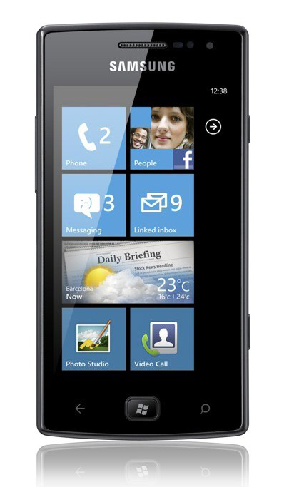Samsung Omnia W, Windows Phone Mango με Super AMOLED και 1.4GHz
