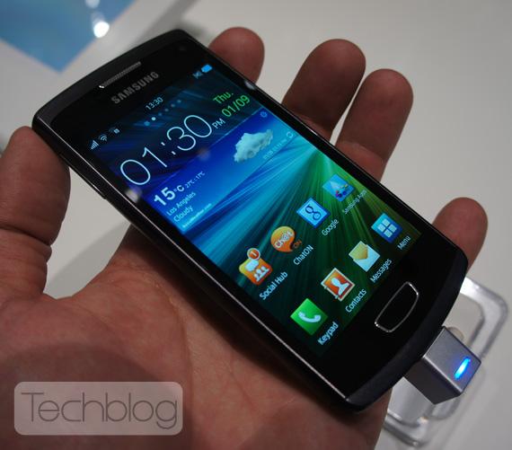 Samsung Wave 3 Bada, Φωτογραφίες hands-on