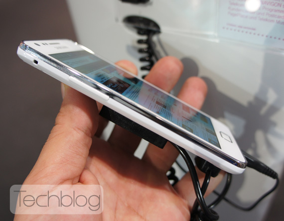 Samsung Galaxy S II λευκό, Φωτογραφίες hands-on