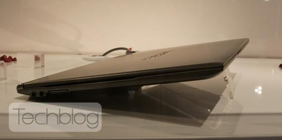 Toshiba Portege Z830 ultrabook, Πολύ λεπτό και ελαφρύ