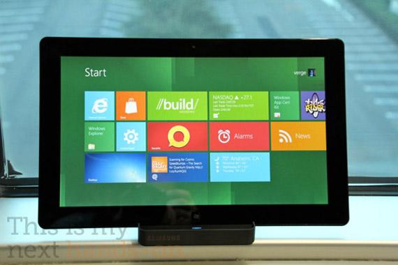 Δείτε τα πανέμορφα Windows 8 να τρέχουν σε ένα Samsung tablet