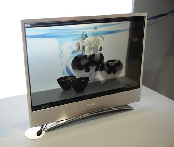 Haier, Διάφανη οθόνη OLED 22 ιντσών