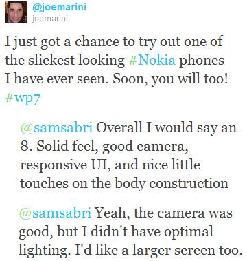 Nokia Windows Phone Mango, Πρώην στέλεχος την Microsoft του δίνει 8/10