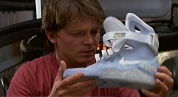 Nike Air Mag Marty McFly, Back to the Future 2012!