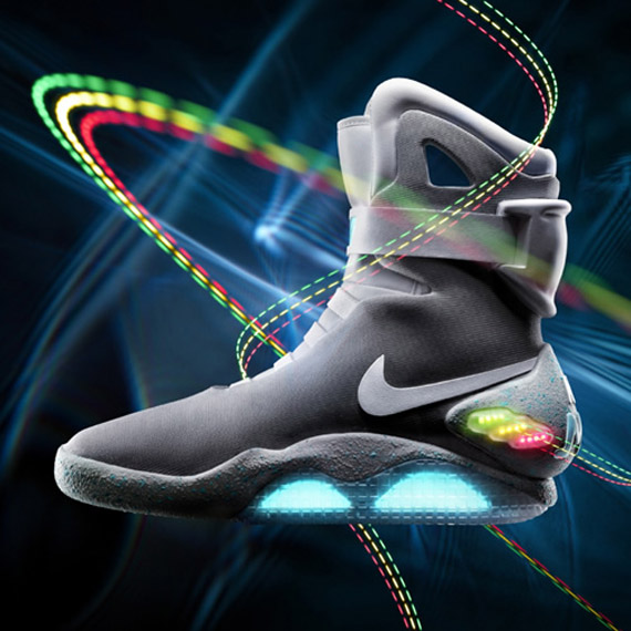 Nike Air Mag Marty McFly sneakers, Back to the Future 2011!