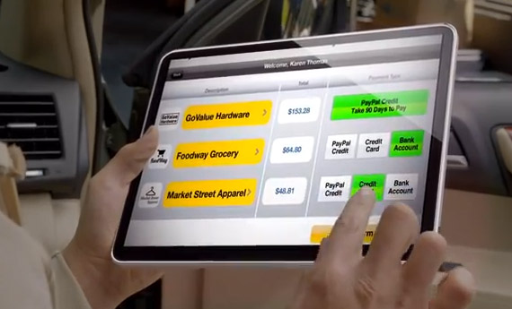 PayPal, Το μέλλον του shopping μέσα από ένα βίντεο