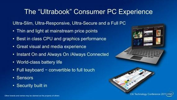 Τα μελλοντικά Ultrabooks θα μοιάζουν με τα Tablets