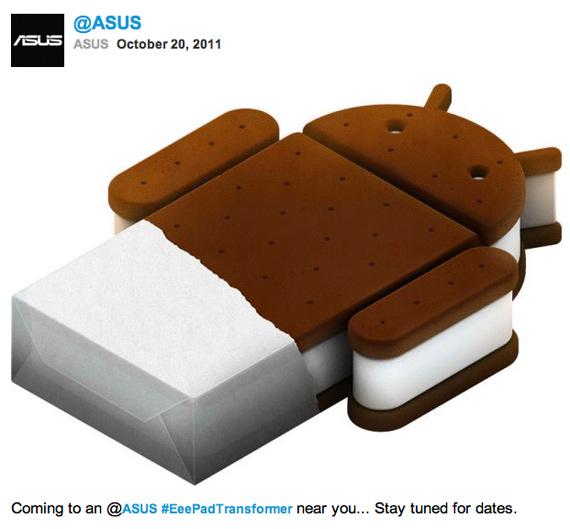 ASUS Transformer 1, Θα αναβαθμιστεί σε Ice Cream Sandwich