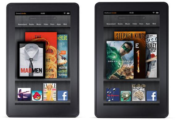 Amazon Kindle Fire, Πούλησε 95.000 τεμάχια την πρώτη μέρα