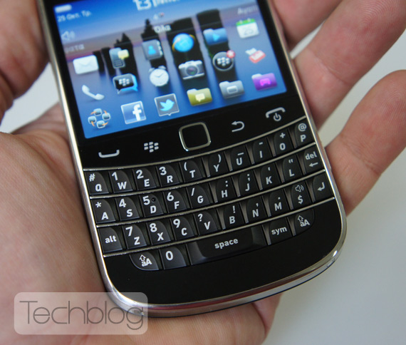 BlackBerry Bold 9900 ελληνικό βίντεο παρουσίαση