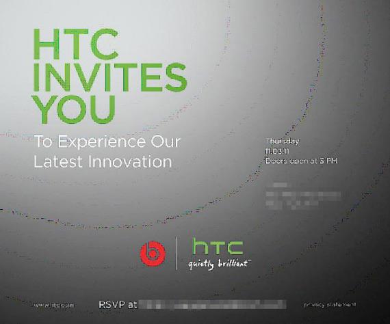 HTC Beats Audio, 8 Νοεμβρίου event στη Νέα Υόρκη για το Rezound;