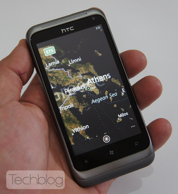 HTC Radar ελληνικό βίντεο παρουσίαση