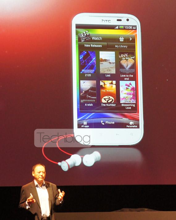HTC Sensation XL, Android με οθόνη 4.7 ίντσες και Beats Audio