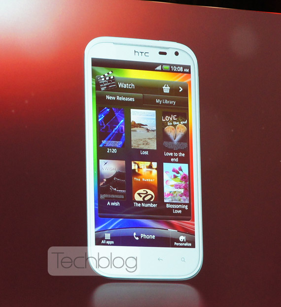HTC Sensation XL, Android με οθόνη 4.7 ίντσες και Beats Audio