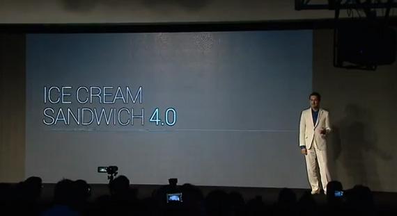 Android Ice Cream Sandwich 4.0 και Galaxy Nexus, Το βίντεο με τις ανακοινώσεις