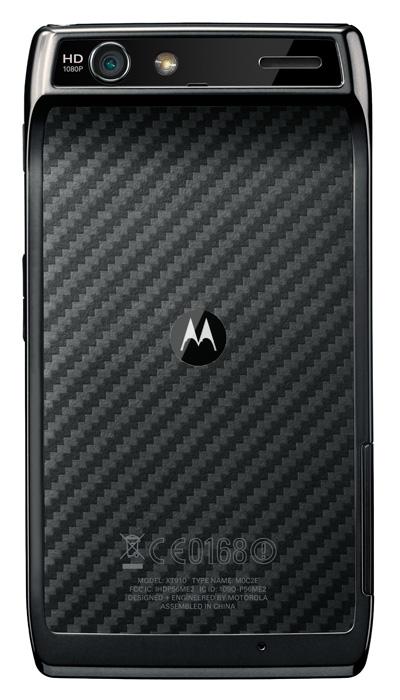 Motorola RAZR XT910, Το ευρωπαϊκό μοντέλο