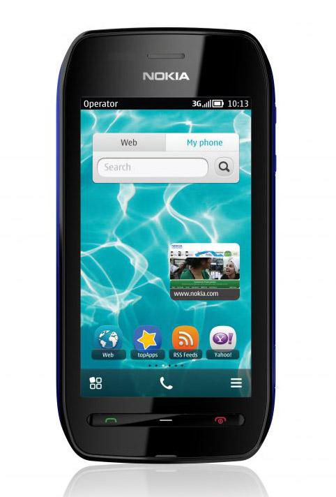 Nokia 603 Symbian Belle, Με οθόνη 3.5 ίντσες Clear Black 640x360 pixels