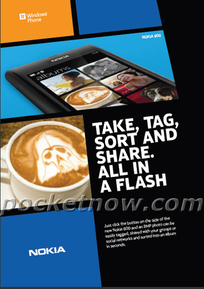 Nokia 800, Το πρώτο με Nokia με Windows Phone