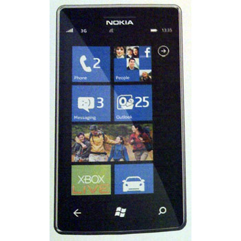 Nokia 900 Windows Phone με οθόνη 4.3 ίντσες AMOLED Clear Black