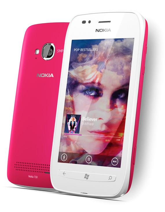 Nokia Lumia 710, Επίσημα με Windows Phone και οθόνη 3.7 ίντσες