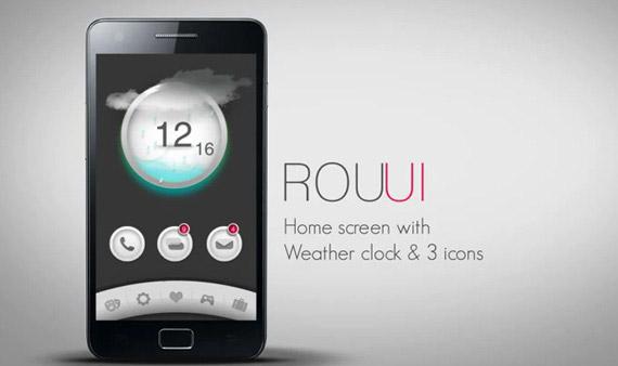 ROU UI, Ένας νέος launcher που θα θέλαμε στο κινητό μας