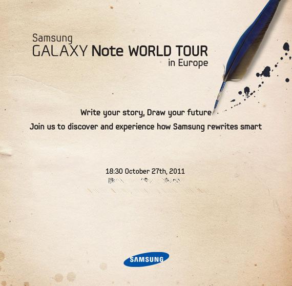 Samsung Galaxy Note World Tour in Europe, Το Techblog πάει Λονδίνο