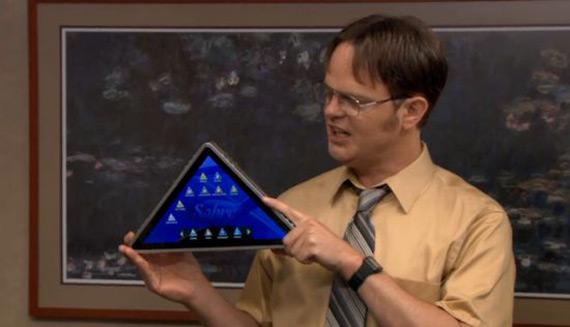 The Pyramid, Το τρίγωνο tablet που δεν μπορεί να μηνύσει η Apple