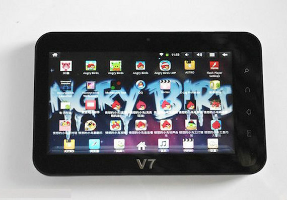 Angry Birds 7άρι Android tablet από την Κίνα με αγάπη!