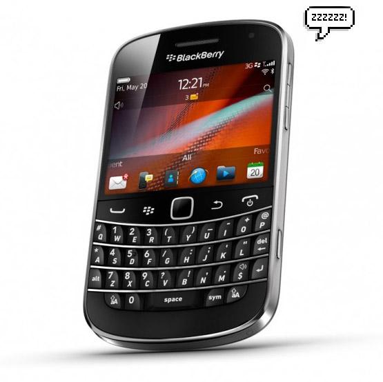 BlackBerry, Συνεχίζεται το Blackout
