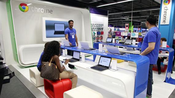 Google Chromezone, Άνοιξε κατάστημα με φορητούς υπολογιστές Chrome OS