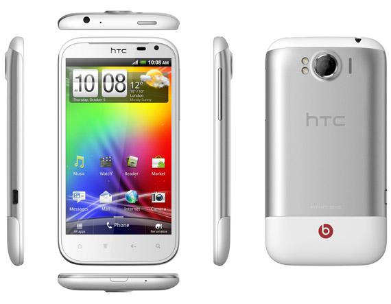 HTC Sensation XL full hands-on ελληνικό βίντεο