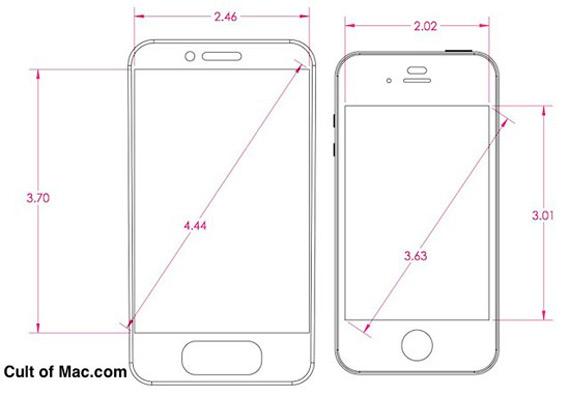 Το επόμενο iPhone θα έχει οθόνη πάνω από 3.5 ίντσες;
