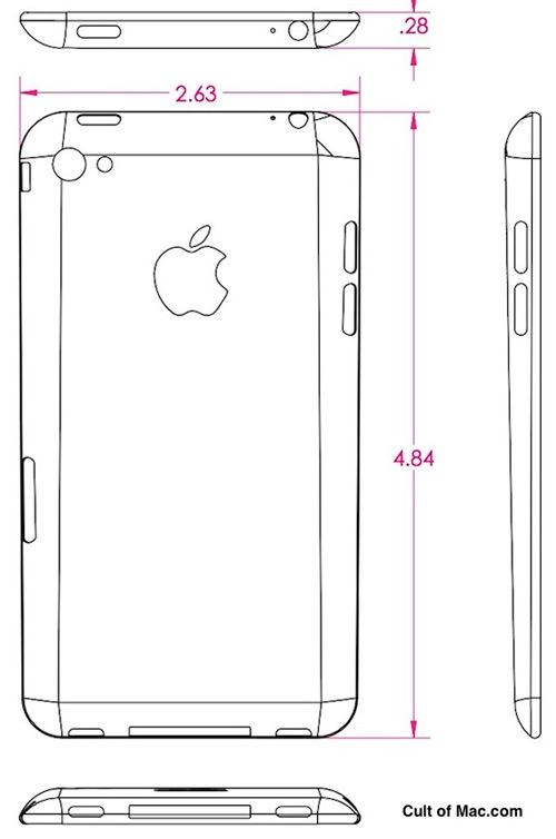 iPhone 5 με οθόνη 4.4 ίντσες [φήμη της τελευταίας στιγμής]