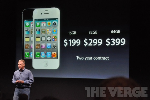 iPhone 4S, Ανακοινώθηκε επίσημα
