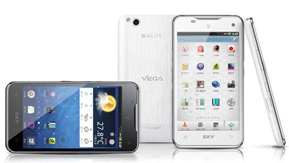 Pantech Vega LTE, Διπύρηνο 1.5GHz και οθόνη 4.5