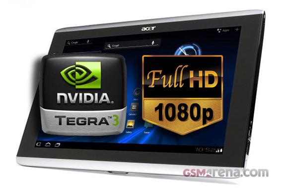 Acer Iconia Tab A701 tablet, Τετραπύρηνο με οθόνη Full HD; [φήμες]