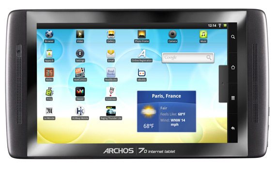 Archos 70 Internet Tablet με 163 ευρώ στα Media Markt