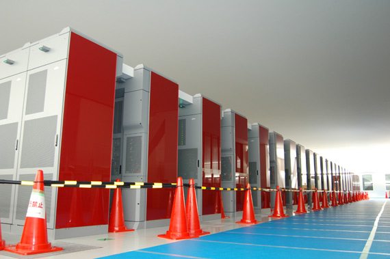 Fujitsu K Computer supercomputer με 88.000 επεξεργαστές