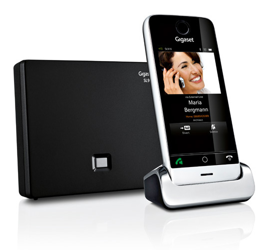 Gigaset SL910, Full touch ασύρματο τηλέφωνο με οθόνη 3.2 ίντσες capacitive
