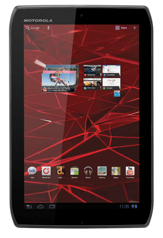 Motorola Xoom 2 Media Edition, Android Honeycomb tablet με οθόνη 8.2 ίντσες